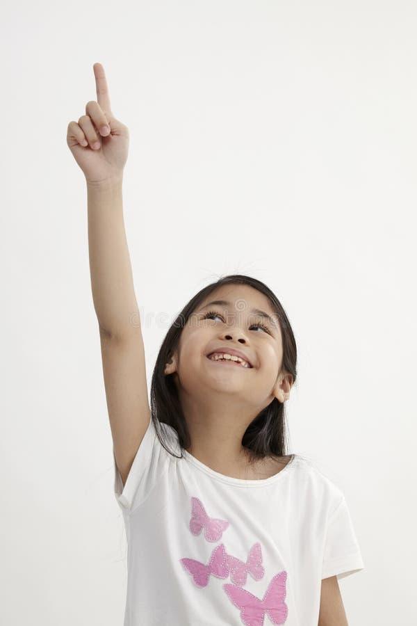 Kids pointing stock photos