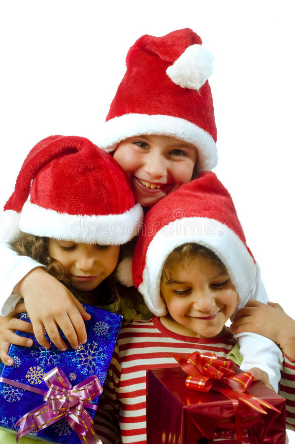 Download Kids and presents stock image. Image of claus, christmas - 6736307