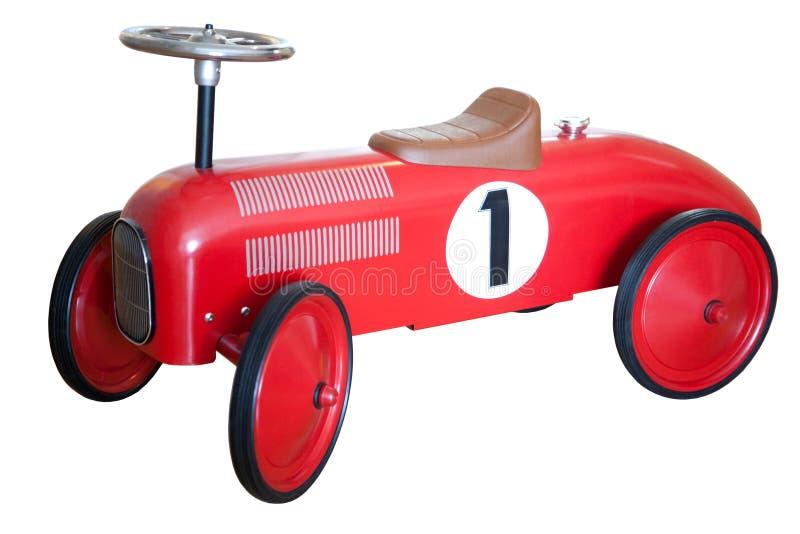 Kids retro car royalty free stock photo