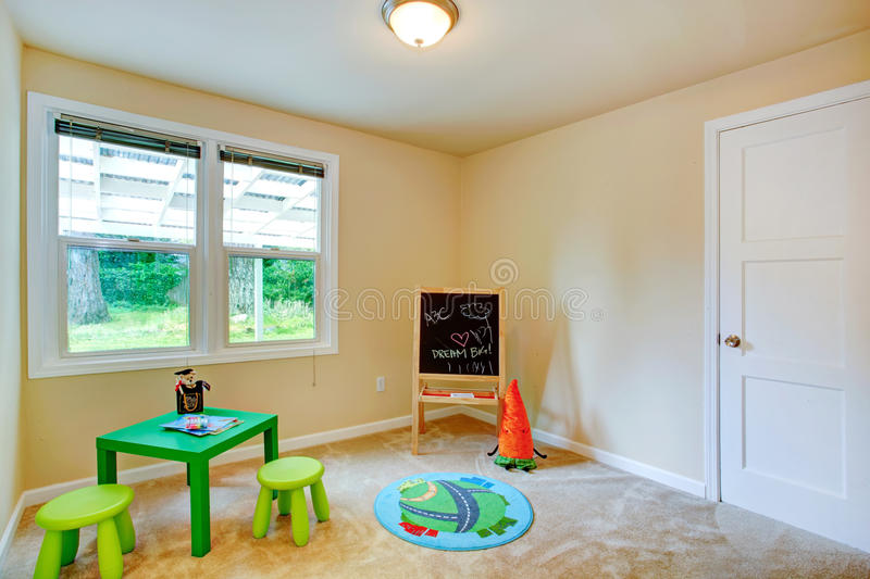Kids room interior royalty free stock image