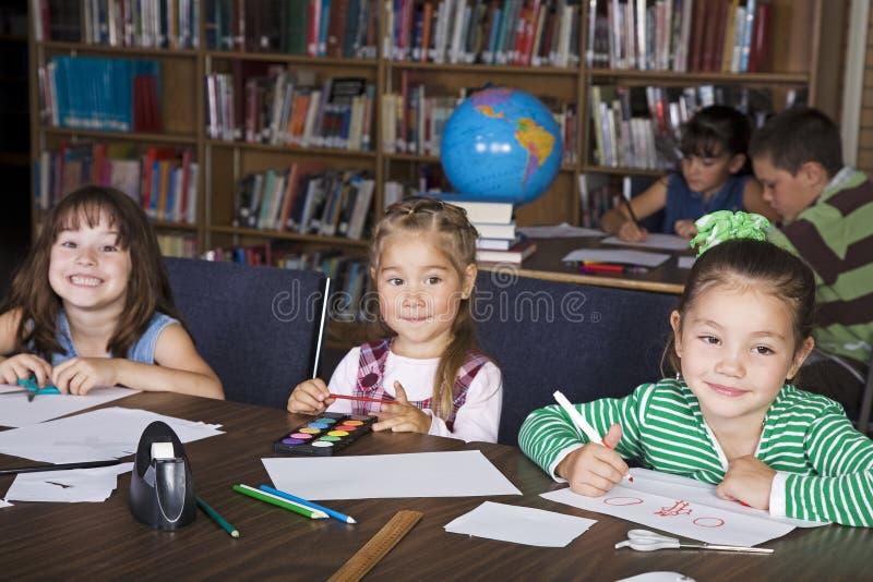 Kids at School stock photo