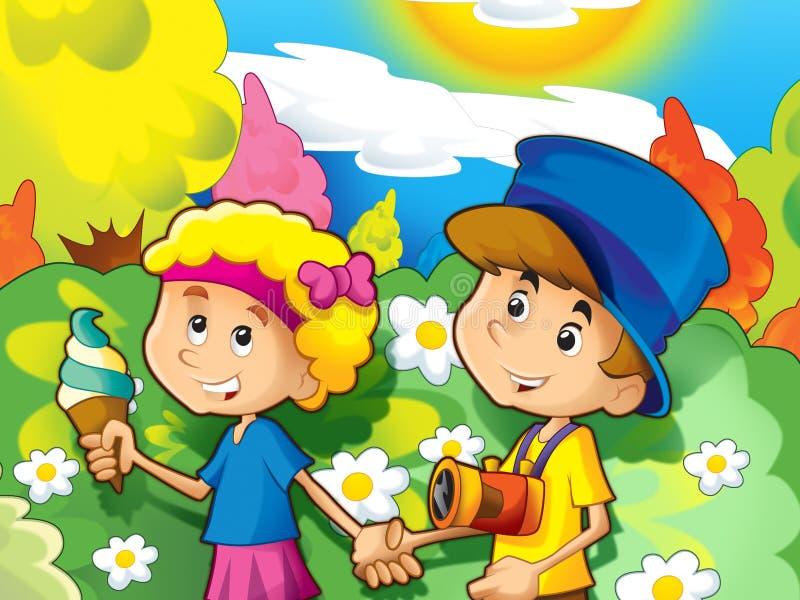 Download Kids Sightseeing Stock Image - Image: 28975061
