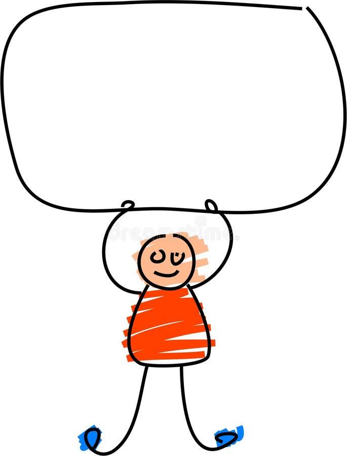 Download Kids sign stock illustration. Image of children, kids, illustrations - 585277