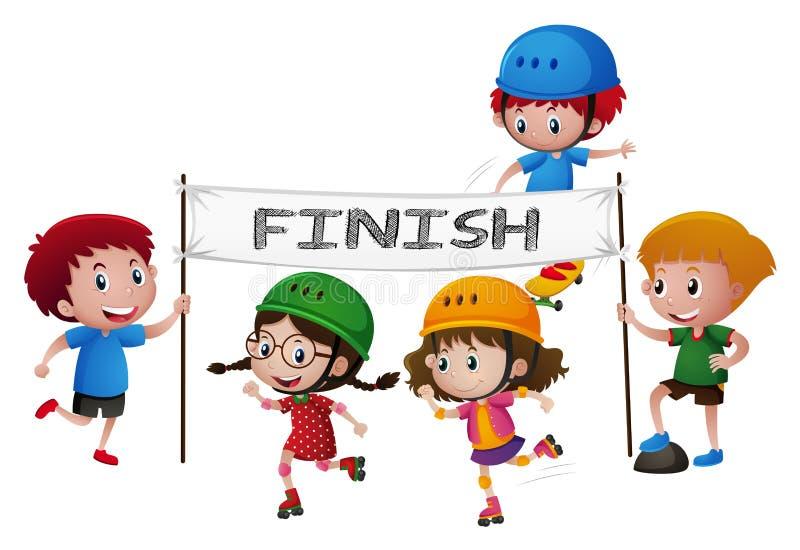 Child Finish Line Clip Art Stock Illustrations – 25 Child Finish Line Clip  Art Stock Illustrations, Vectors & Clipart - Dreamstime
