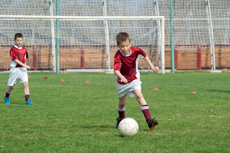 Download Kids soccer stock image. Image of kicking, sports, action - 24035437