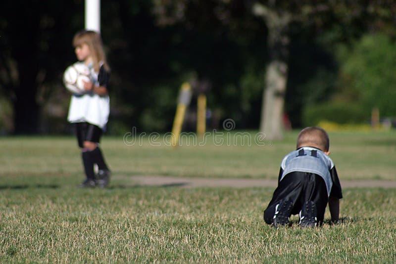 Kids soccer1 stock photo