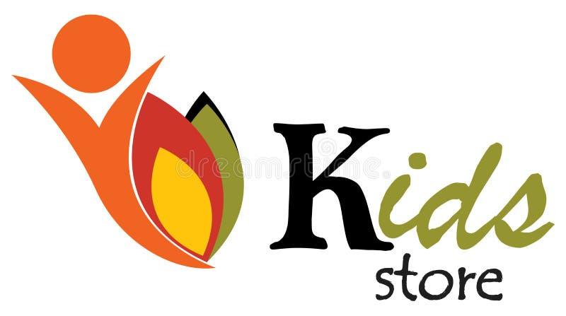 Kids store royalty free illustration