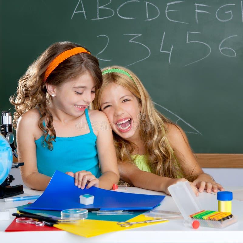 Free Kids Student Girls At School Classroom Stock Image - 20983911