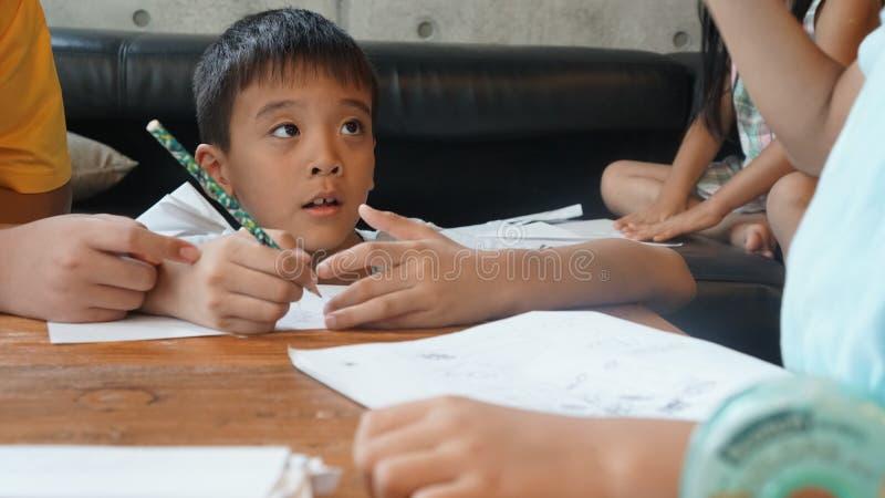 Kids Studying Free Public Domain Cc0 Image