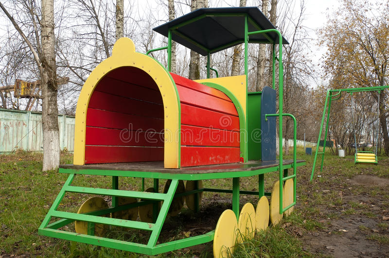 Kids toy street train stock images