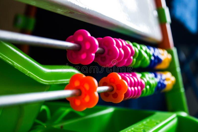 Kids toys. Building kit. stock image