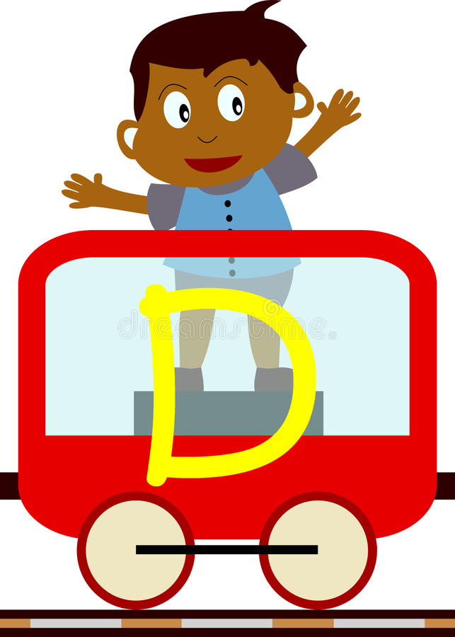 Download Kids & Train Series - D Royalty Free Stock Image - Image: 3633976