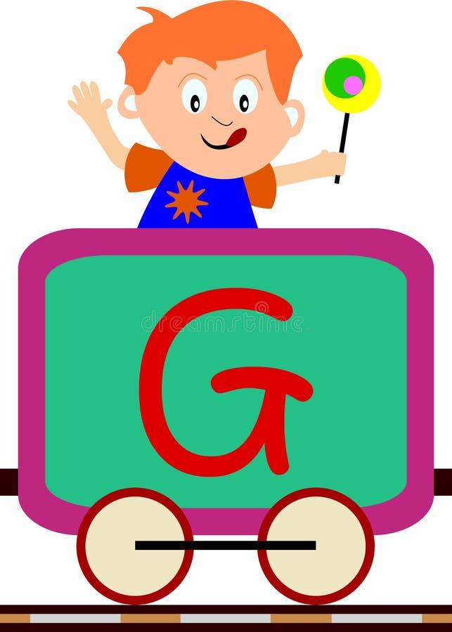 Free Kids & Train Series - G Royalty Free Stock Photos - 3633968