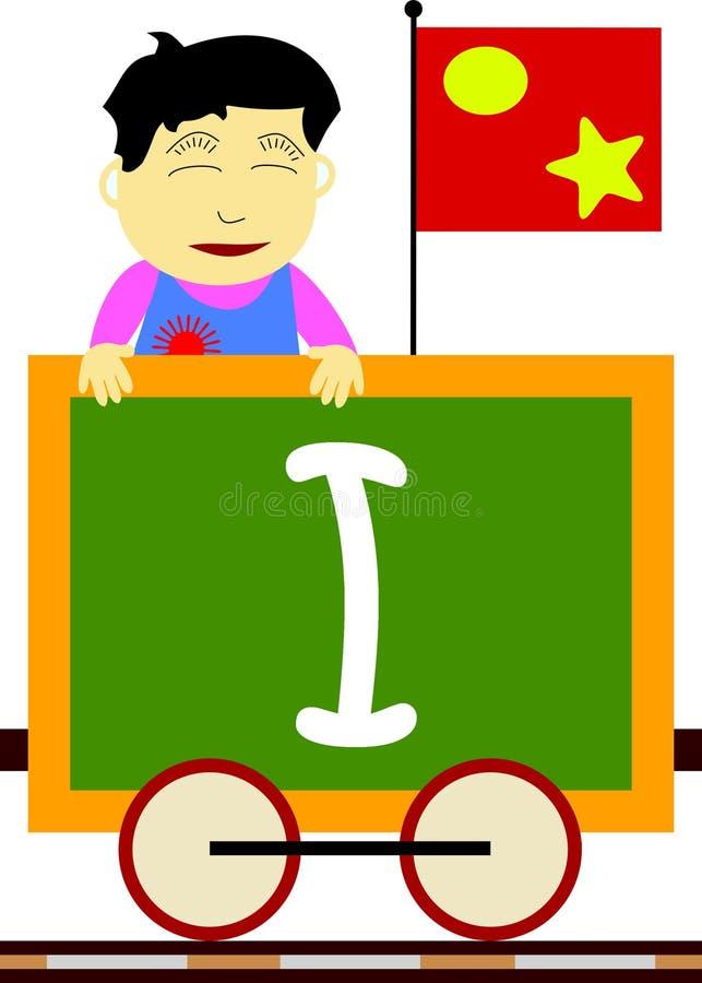 Free Kids & Train Series - I Royalty Free Stock Image - 3633946