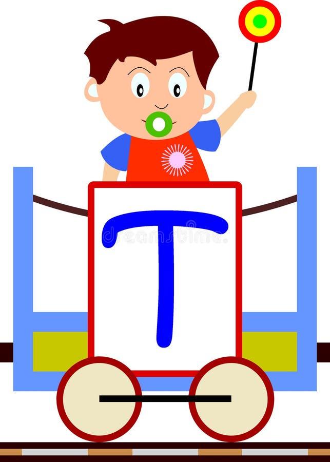 Download Kids & Train Series - T stock illustration. Image of cartoons - 3633915