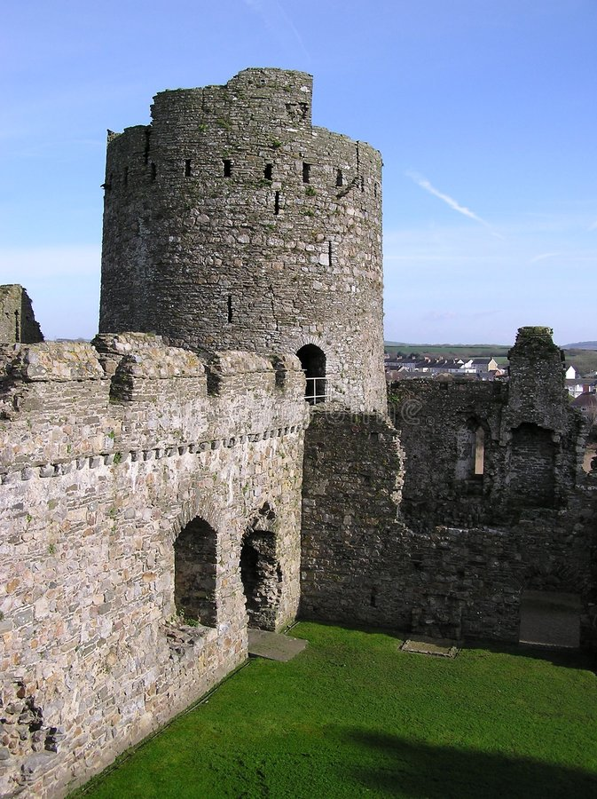 Kidwelly Castle 2 Royalty Free Stock Images