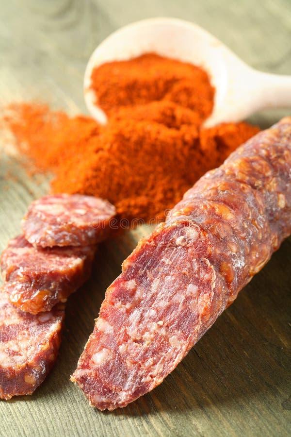 kiełbaski chili zdjęcie royalty free