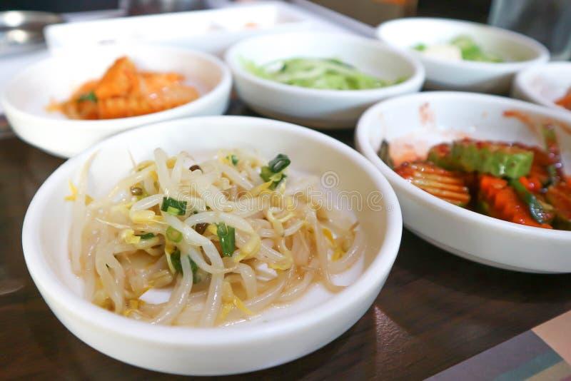 Kiełkowa sałatka lub koreańczyk sałatka zdjęcia stock