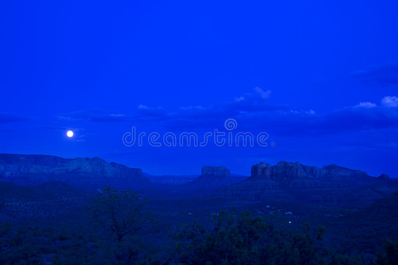 kiedyś blue moon obraz royalty free