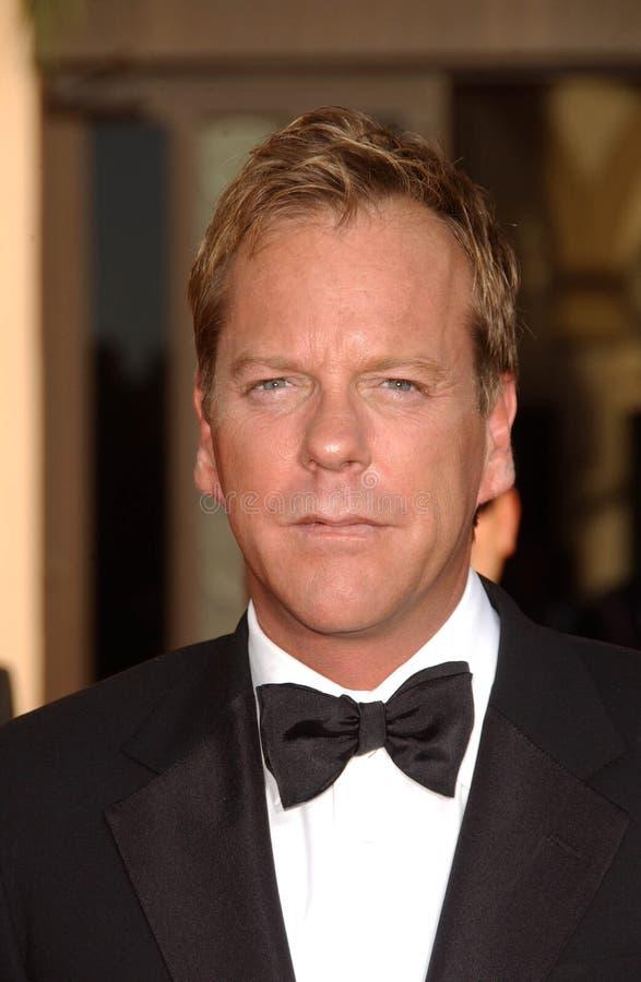 Kiefer Sutherland foto de archivo libre de regalías