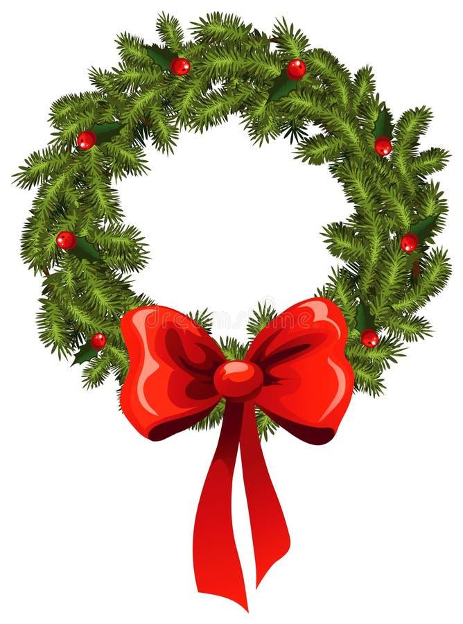 Kiefer Wreath vektor abbildung