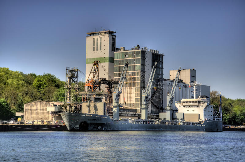 Kiel Canal stock foto's