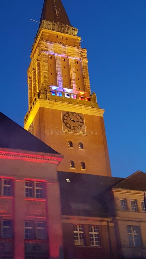 Kieler Rathaus стоковые фото