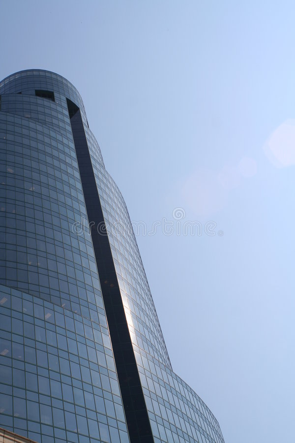 kieliszek budynku. obrazy stock