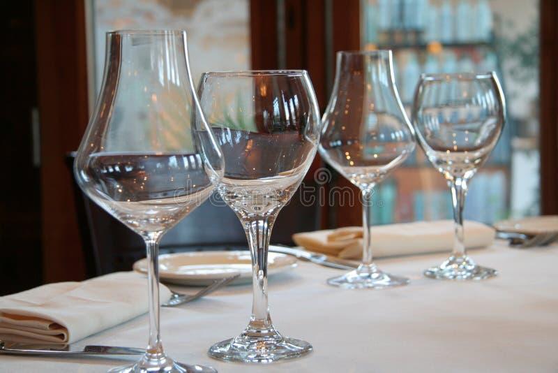 kieliszki wina zdjęcie royalty free