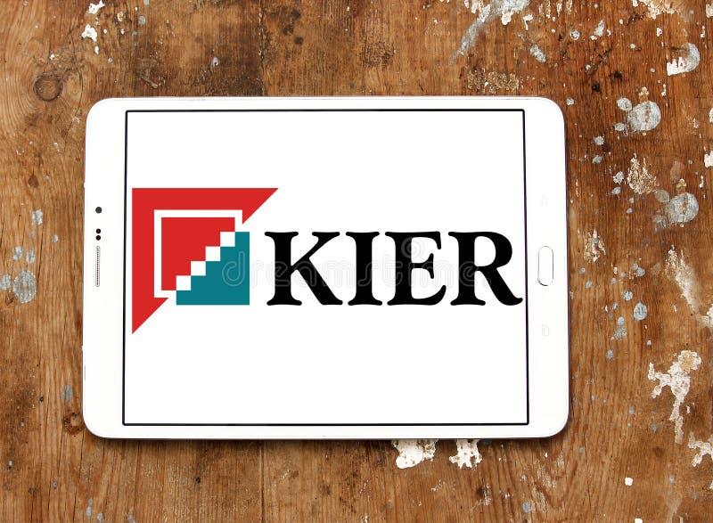 Kier Group logo royaltyfri fotografi