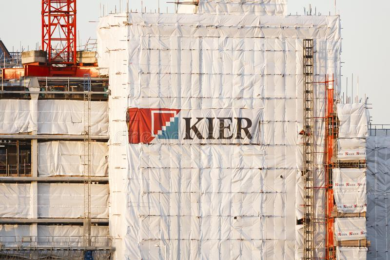 Kier Group Plc construction site stock images