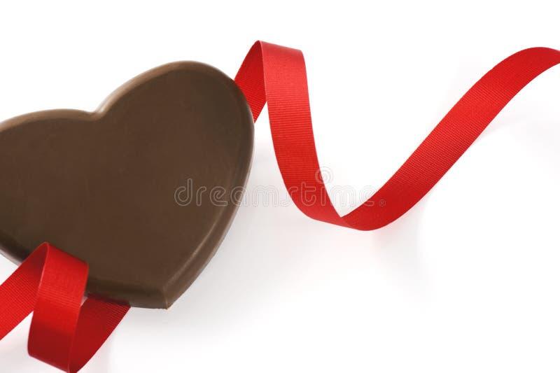 Kierowa kształt czekolada fotografia stock