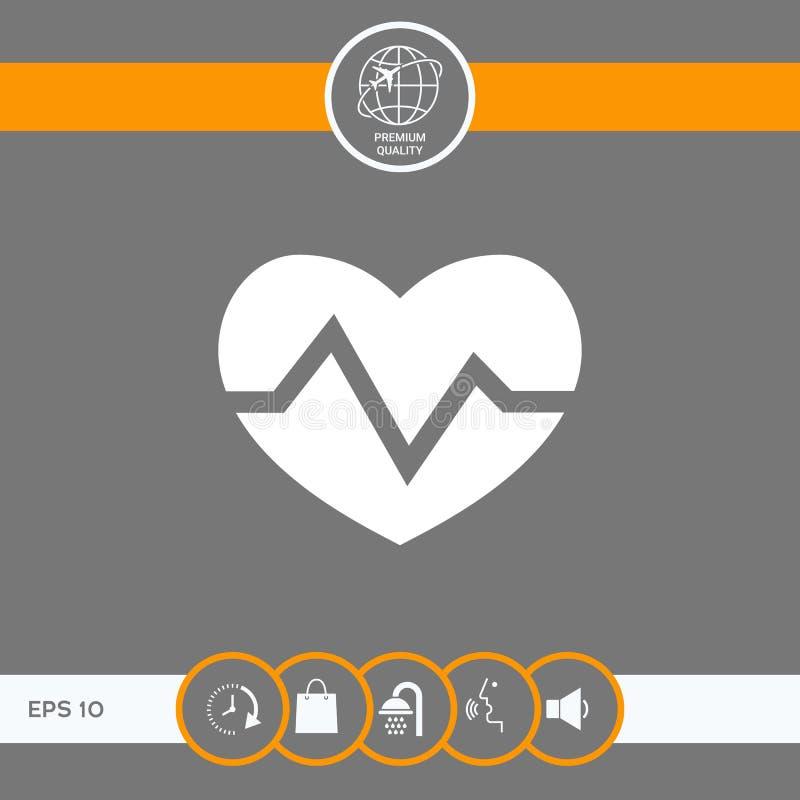 Kierowa medyczna ikona ilustracji