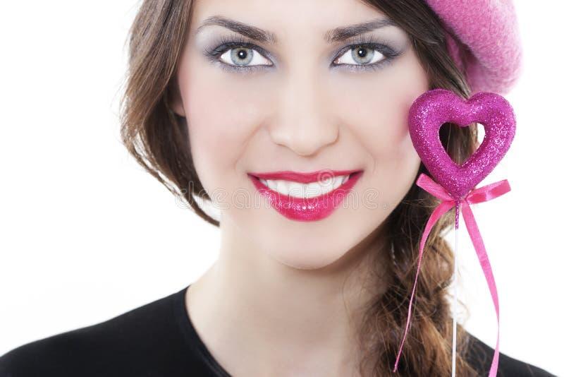 kierowa uśmiechnięta kobieta fotografia stock