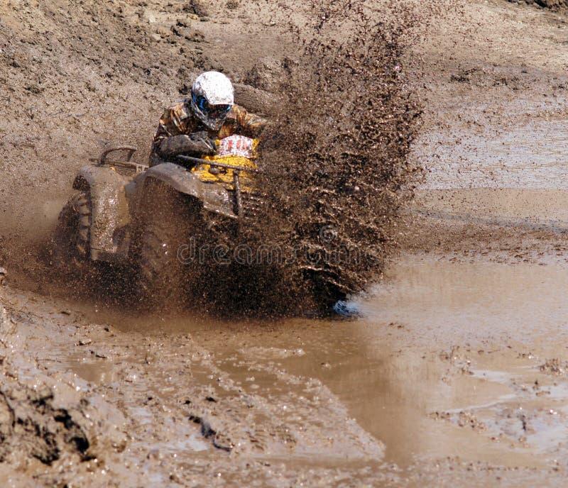 Kierowca ATV fotografia royalty free