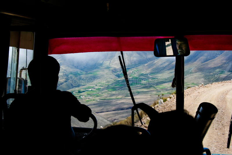 Kierowca autobusu obraz stock