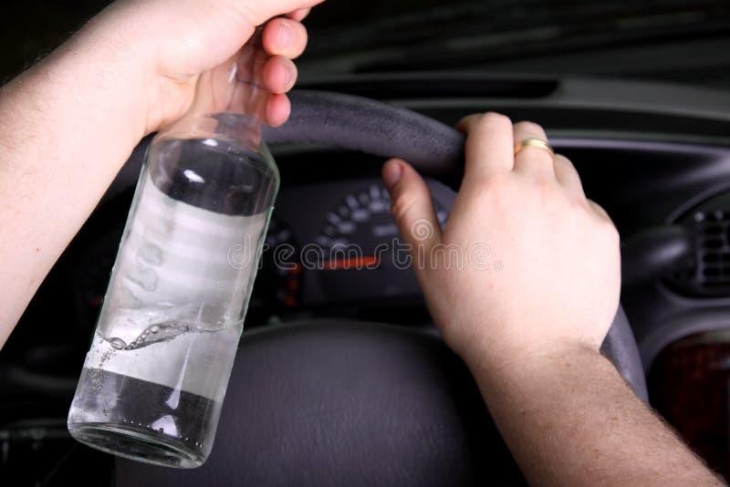 kierowca pijący zdjęcia royalty free