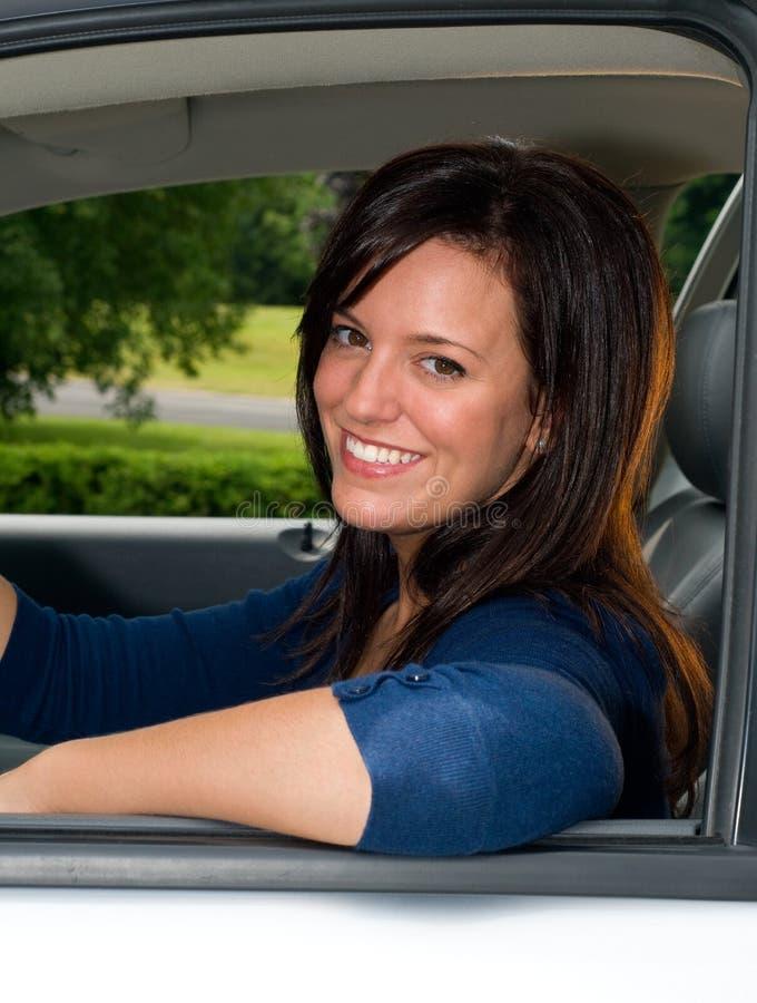 kierowca relaksujący zdjęcie stock