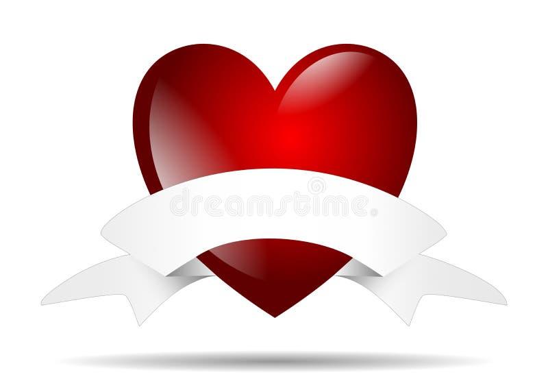 Kierowi odosobneni valentines poślubia miłości royalty ilustracja