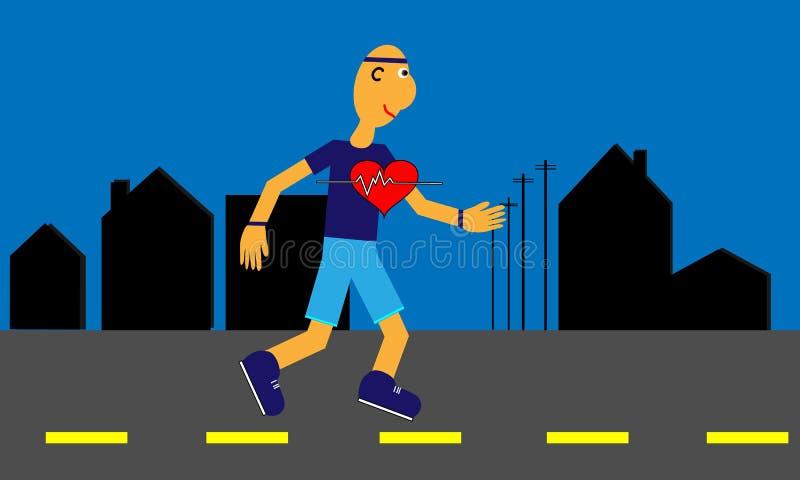 Kierowi zdrowie ilustracja wektor