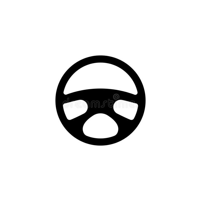 Kierownicy Płaska Wektorowa ikona ilustracji