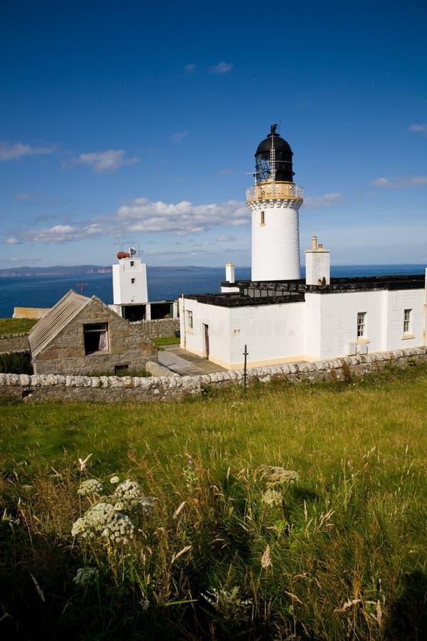 kierownicza dunnet latarnia morska Scotland zdjęcie stock
