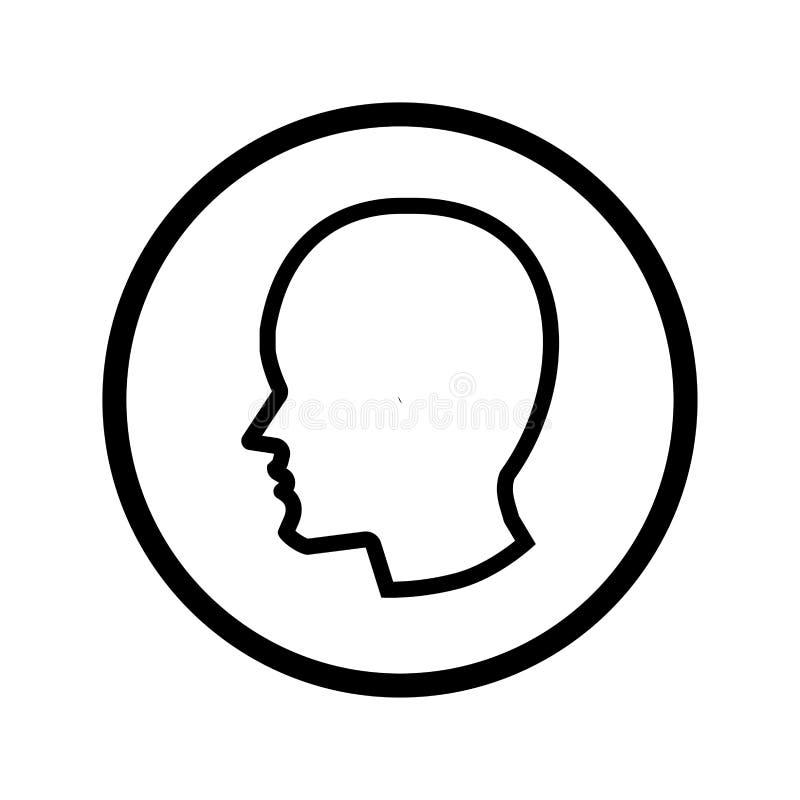 Kierownicza ikona w okręgu - wektorowy ikonowy projekt ilustracji