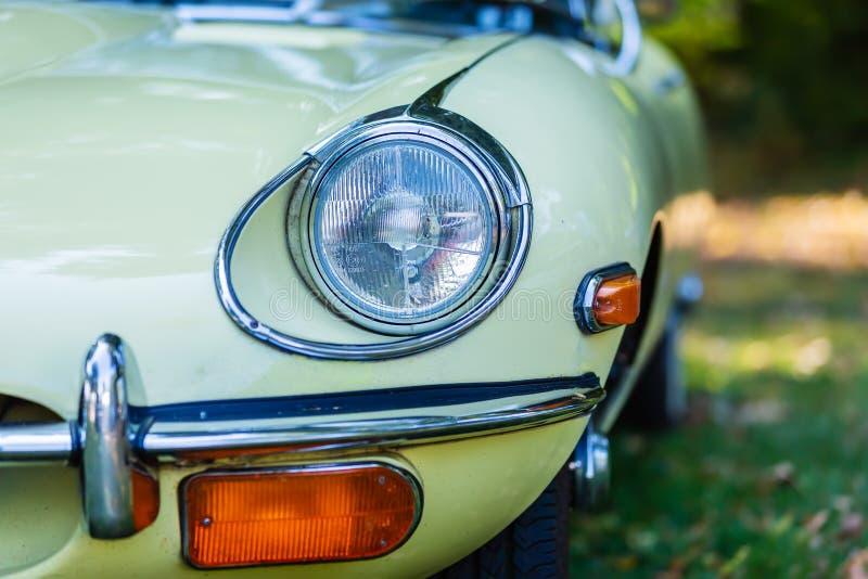 Kierowniczy światło Jaguar typ zdjęcia royalty free