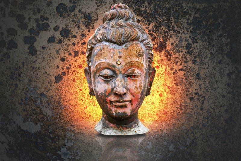 Download Kierowniczy Buddha Wizerunek Ilustracji - Ilustracja złożonej z antyczny, historia: 41954748