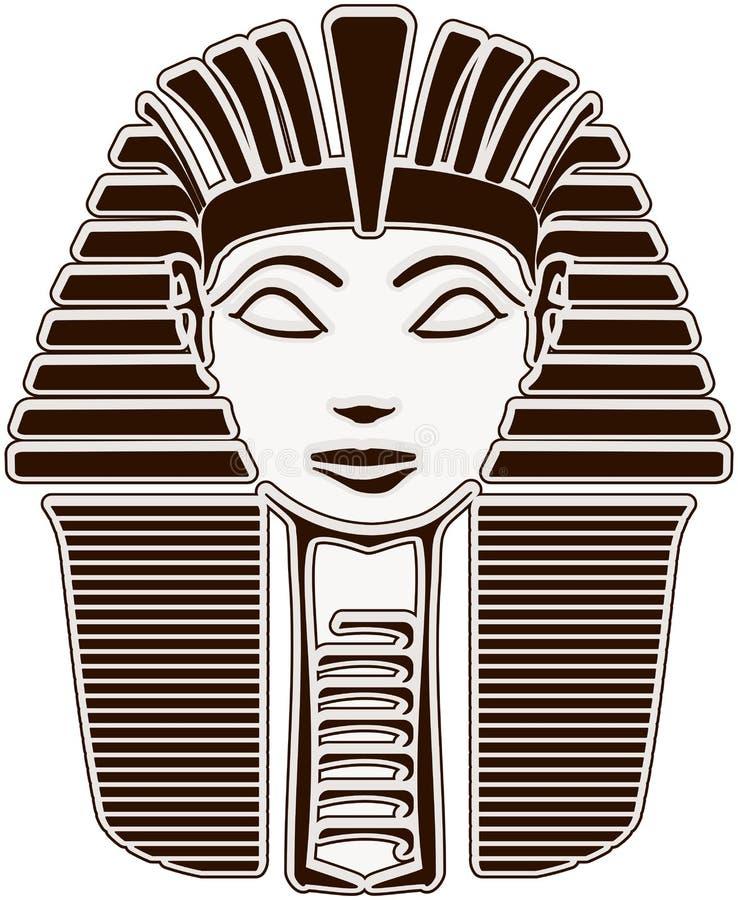 kierowniczy hatshepsut sfinks ilustracja wektor