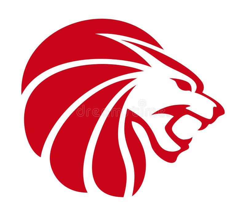 kierowniczy ilustracyjny lew ilustracja wektor