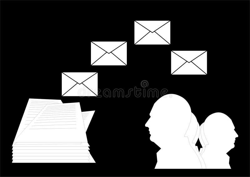 kierowniczy pocztowy zdjęcie stock