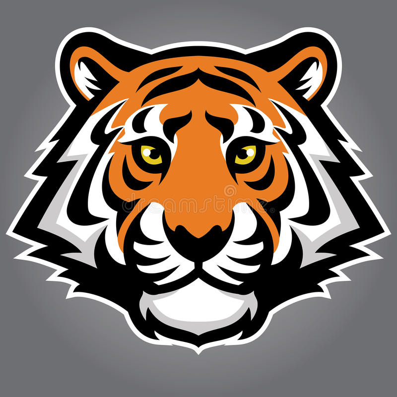 kierowniczy tygrys ilustracji