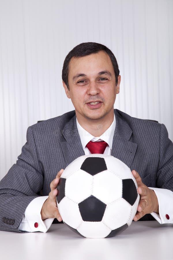 kierownika biura piłka nożna obrazy stock